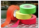 ProTapes PROGAFF24NYE Fluorescent Tape 24mm x 22.8m - Yellow