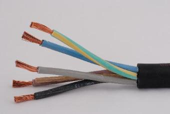 22308 Metre x BS6500 H07RN-F Rubber Cable - 5core 6mm Black