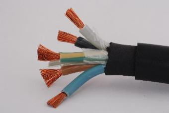 22389 Metre x BS6500 H07RN-F Rubber Cable - 5core 10mm Black