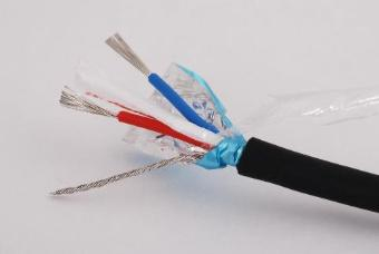 Metre x DMX Cable 500v Insulation - Flexible Black