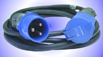 Cables - 32A Blue Single Phase