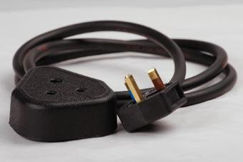 StageCable 13A Plug to 15A Socket Cable - 1m