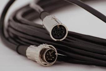 StageCable Din 8pin Control Cable + Plug & Socket - 20m (wired for Strand/Zero 88)