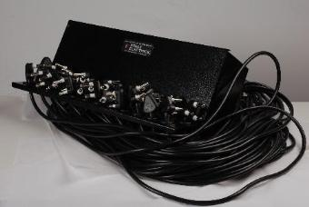 Stage Electrics 15A Cord Patch with 24 x 2m Leads + 15A Plugs