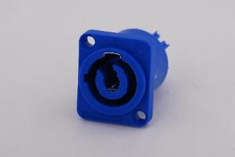 Neutrik NAC3MPA-1 PowerCON 20A Panel Plug `Blue'