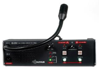 Altair 5008 ES200 Intercom Remote Station Desk Mounting - 2ch