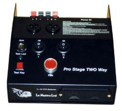 Le Maitre 1111 Prostage Pyro Control System Battery Operated 2 way