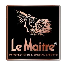 Le Maitre 1200R 12 x Pyroflash Theatrical Flash Cartridge - Red