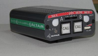 Altair 5119 EM2023P Dual Channel Intercom Beltpack - 3pin