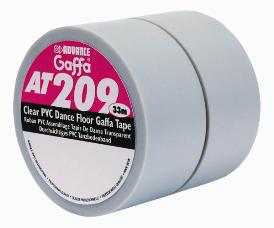 Advance 225286 AT209 Gaffa Dance Floor Tape 19mm x 33m - Opaque