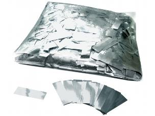 MagicFX CON10SL 1kg Bag Metallic Confetti Rectangles 55x17mm - Silver