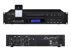 Tascam CD-200IL CD Player + iPod Dock - 2U Rack Mounting