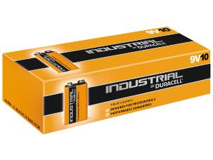 """Duracell ID1604 10 x Procell """"PP3"""" Batteries - 9V"""