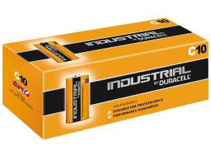 """Duracell ID1400 10 x Procell """"C"""" Batteries - 1.5V"""