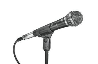 Audio Technica PRO31QTR Dynamic Cardioid Vocal Microphone + On/Off Switch