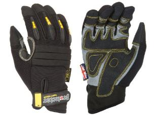 Dirty Rigger DTY-PROTECV2M Protector Full Fingered Glove - M-Size 9
