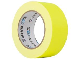 ProTapes PROGAFF48NYE Fluorescent Tape 48mm x 22.8m - Yellow