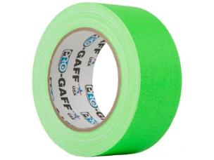 ProTapes PROGAFF48NGN Fluorescent Tape 48mm x 22.8m - Green