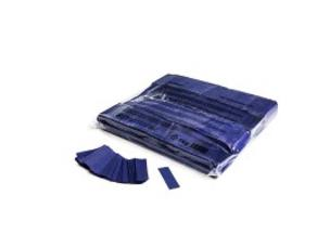 MagicFX CON01DB 1kg Bag Slowfall Confetti Rectangle 55x17mm - Dark Blue
