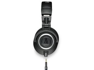 Audio Technica ATH-M50X Professional Closed-Back Monitor Headphones + Detachable Cables with 3.5mm Jack