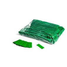MagicFX CON01DG 1kg Bag Slowfall Confetti Rectangle 55x17mm - Dark Green