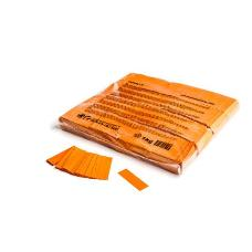 MagicFX CON01OR 1kg Bag Slowfall Confetti Rectangle 55x17mm - Orange