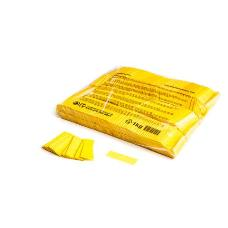 MagicFX CON01YL 1kg Bag Slowfall Confetti Rectangle 55x17mm - Yellow