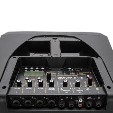 RCF 13000556 EVOX JMIX8 Active 2-Way Portable Array System 1400W + Digital Mixer - Black