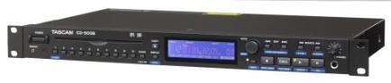 Tascam CD-500B CD Player - Slot Loading Ultra Compact 1U R/Mount