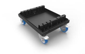 Admiral Staging WAVLC736 Baseplate Dolly for 73x73cm x 6mm