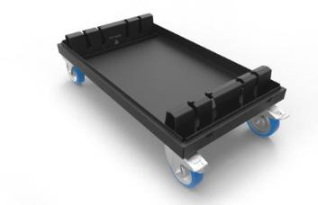 Admiral Staging WAVLC1010 Baseplate Dolly for 100x100cm x 10mm