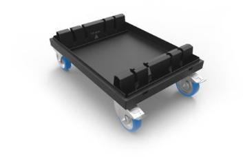 Admiral Staging WAVLC8010 Baseplate Dolly for 80x80cm x 10mm