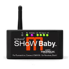 City Theatrical 5900 Multiverse Show Baby Wireless DMX Transceiver