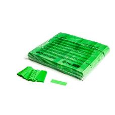 MagicFX CON01LG 1kg Bag Slowfall Confetti Rectangle 55x17mm - Light Green