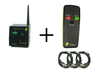 Interspace MC3-S3 MicroCue3 3 USB Cueing System incl 1 x 3-Button Handset