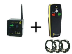 Interspace MC3-L2 MicroCue3 3 USB Cueing System incl 1 x 2-Button Laser Handset