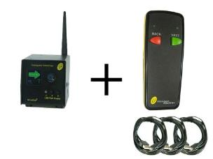 Interspace MC3-S2 MicroCue3 3 USB Cueing System incl 1 x 2-Button Standard Handset