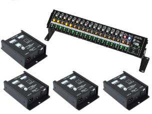 Interspace TCB4V4 TheatreCue Bundle with 4way Outstations v4
