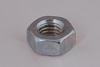 100 x Hex Nut - M10 Zinc Plated