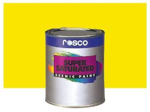 Rosco 59811 Supersat Paint - Chrome Yellow - 1l