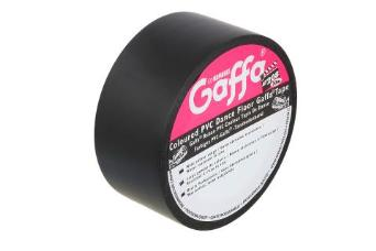 Advance 205035 AT208 Gaffa PVC Dance Floor Tape 50mm x 33m - Black
