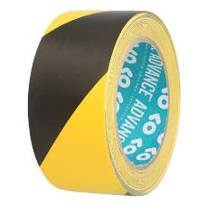 Advance 110001 AT8H PVC Hazard Tape - Black & Yellow Stripes 50mm