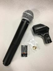 Shure BLX2/SM58-K3E Ex Display BLX2/SM58 Handheld Wireless Mic Transmitter Only + Stand Clip