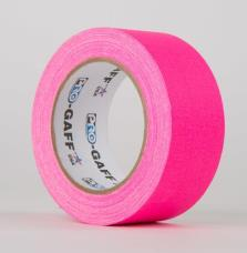 ProTapes PROGAFF24NPK Fluorescent Tape 24mm x 22.8m - Pink