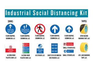 Advance 255555 Industrial Social Distancing Kit