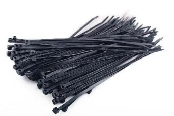 StageStore 100 x Cable Ties - 300mm x 4.8mm Black