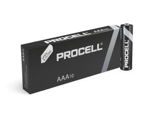 "Duracell ID2400 10 x Procell ""AAA"" Batteries - 1.5V"