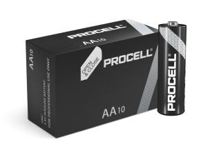 "Duracell ID1500 10 x Procell ""AA"" Batteries - 1.5V"
