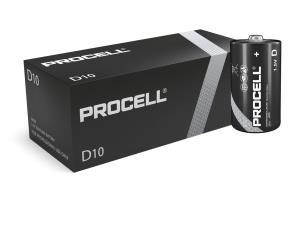 "Duracell ID1300 10 x Procell ""D"" Batteries - 1.5V"