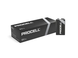 "Duracell ID1604 10 x Procell ""PP3"" Batteries - 9V"